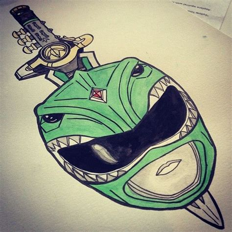 dragonzord tattoo 17 best images about tattoos on pinterest green ranger
