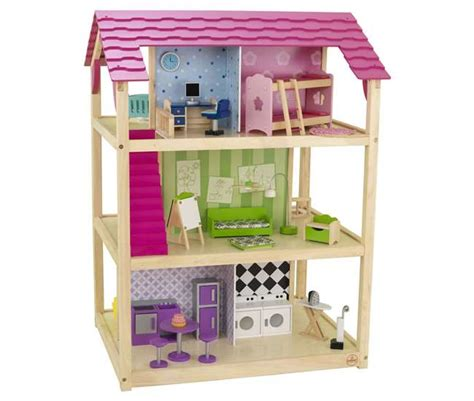 kidkraft so chic doll house kidkraft so chic deluxe pretend play dollhouse 65078 vminnovations com