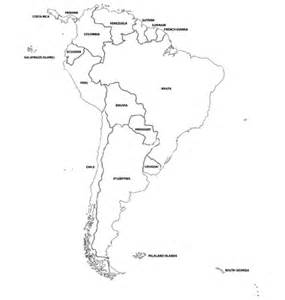 South America Country Outlines by Best Photos Of Blank South America Country Map Blank Maps South America Countries Blank Map