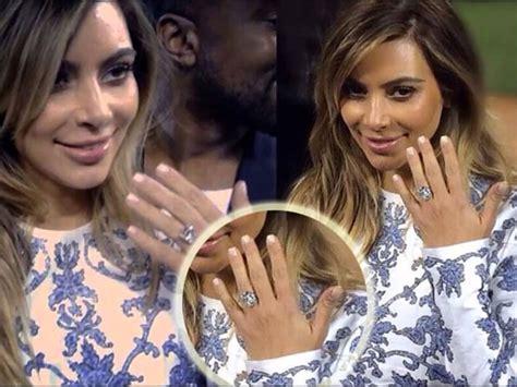 s amazing engagement ring from kanye west