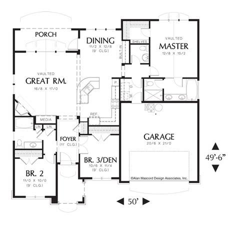 14 mascord house plan 1146 the 100 floor plans for