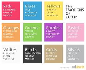 colors and feelings color palettes that you can use on your website