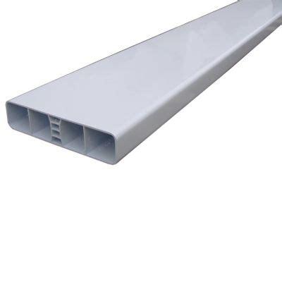 Plat Aluminium 30 X 100 X 120 barreau lisse en pvc 120 x 28 x 2300 castorama