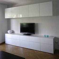 ikea wall cabinets living room ikea besta cabinets with high gloss doors in living room