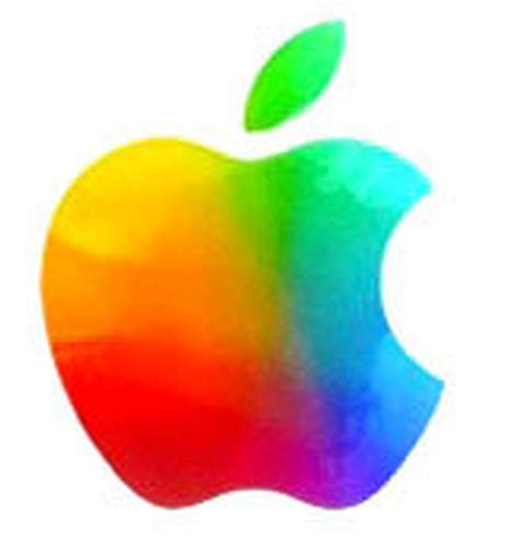 apple news new apple logo brings back colours pc advisor