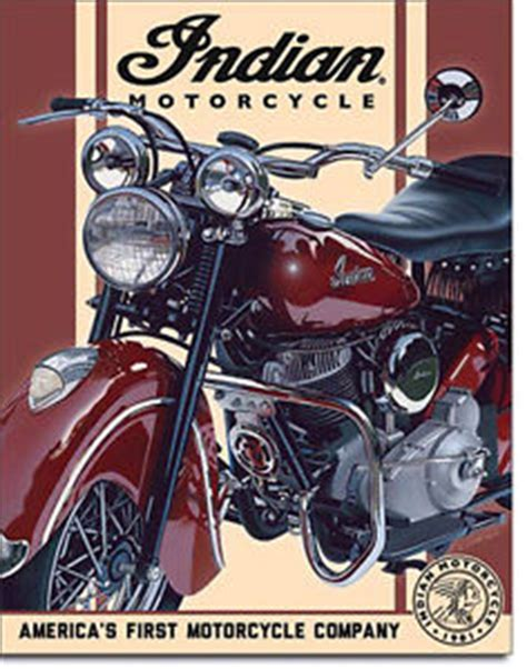 Ebay De Indian Motorrad by Indian Motorcycles Ad Sign Vintage Bike Poster Classic Car