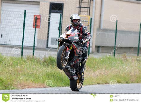 Motorradrennen Belgien irrc motorradrennen in ostende belgien redaktionelles foto