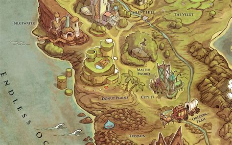 layout video game the video game map to end all video game maps kotaku