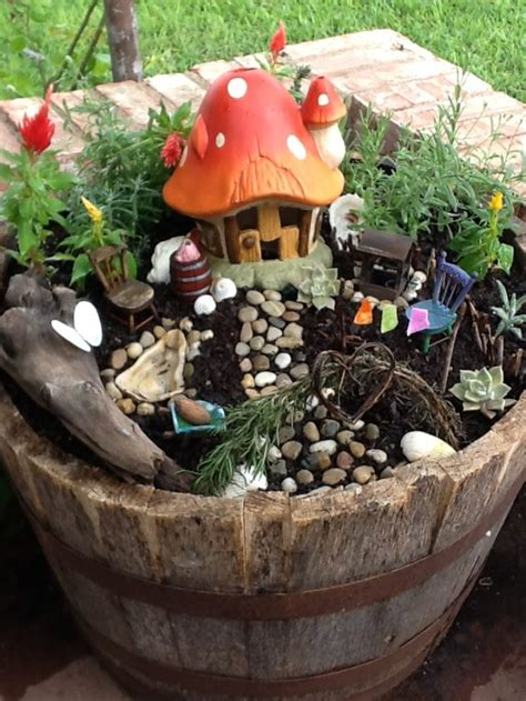 pick  top  miniature fairy garden design