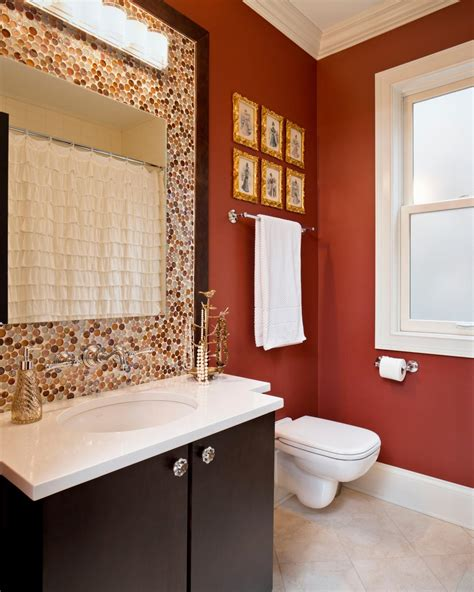small bathroom colors ideas bold bathroom colors that a statement hgtv s