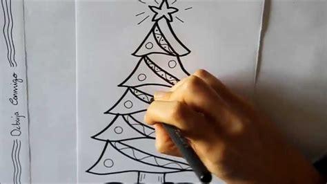 c 243 mo dibujar un 193 rbol de navidad decorado dibuja conmigo