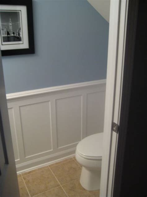 redo bathtub enamel half bath redo with moulding i d love to do this to ours