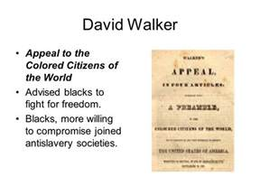appeal to the colored citizens of the world slavery abolition ch 8 sect 2 pg ppt