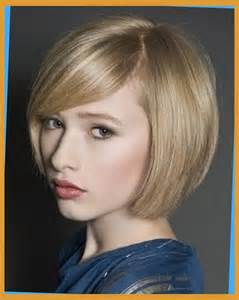 bobs hairstyle with side swoop chic bob haircut with side swept bangs latest short