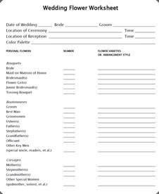 Wedding Information Sheet Template by Working Designer Wednesday Documents Botanical Brouhaha