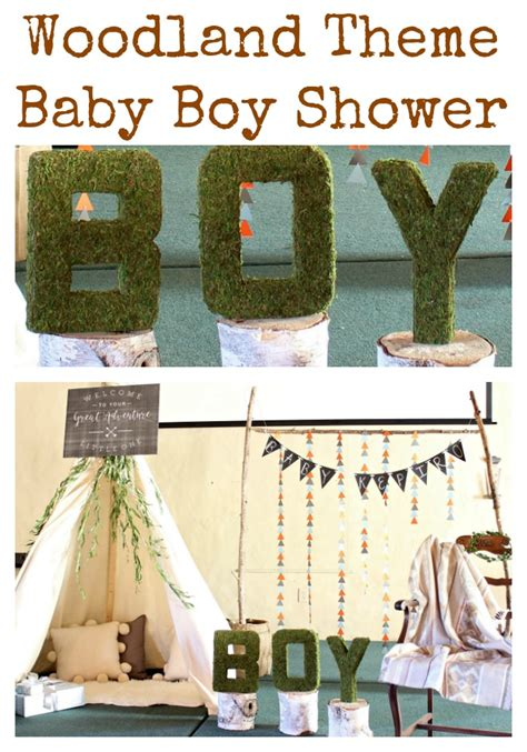 Woodland Baby Shower Theme by Baby Shower Woodland Theme Woodland Themed Baby Shower