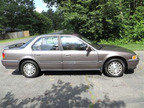 how does cars work 1992 honda accord electronic throttle control sell used 1992 honda accord ex 4 door sedan low mileage nice sunroof automatic in winston