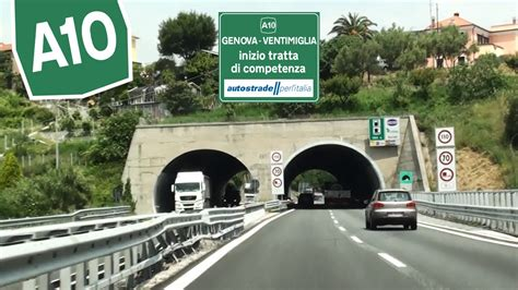 autostrada dei fiori it a10 savona autostrada dei fiori carreggiata sud