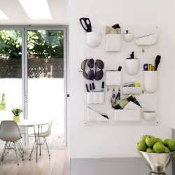Kitchen Wall Storage by Wall Mounted Storage Be Inspired By A White Minimalist