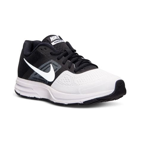 black nike sneakers mens nike mens air pegasus 30 running sneakers from finish line