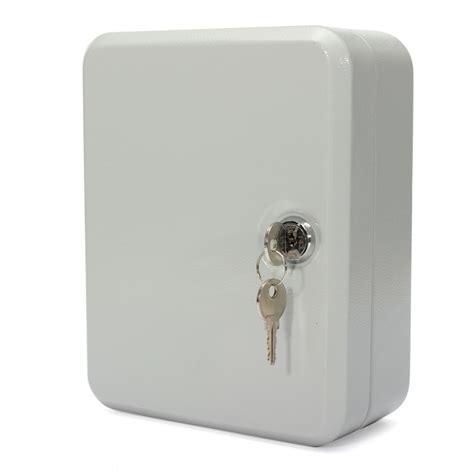 key cabinet lock box 20 key hook cabinet storage wall mount organizer safe