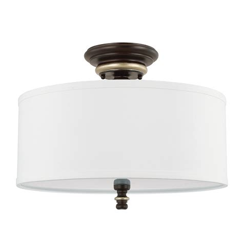 Flush Light Fixtures 3 Light Semi Flush Capital Lighting Fixture Company