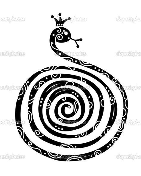 new year symbols snake zodiac snake tattoos snake silhouette design symbol of new year 2013 stock