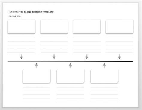 timline template free blank timeline templates smartsheet