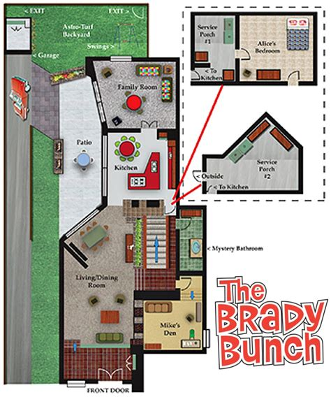 the brady bunch house the story the sets of a