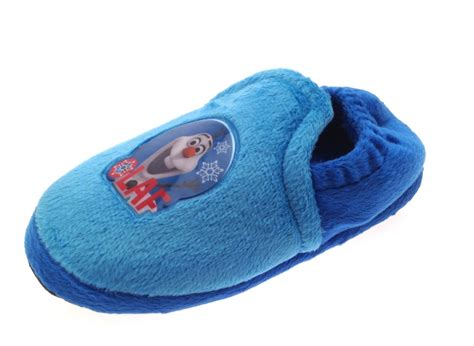 character slippers half price sale boys disney frozen olaf slippers mules