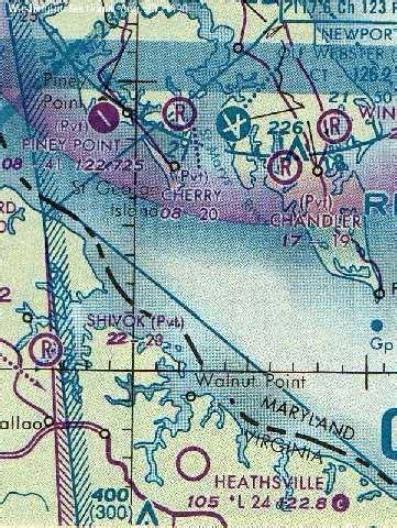 washington sectional chart abandoned little known airfields virginia hton area