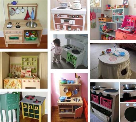 homemade play kitchen ideas 85 best diy play kitchens images on pinterest play