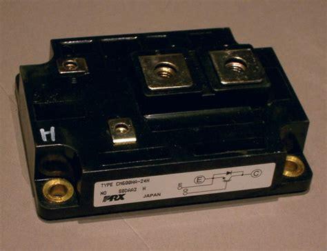 igbt transistor model cm600ha 24h 1200v 600a igbt high power module powerex used