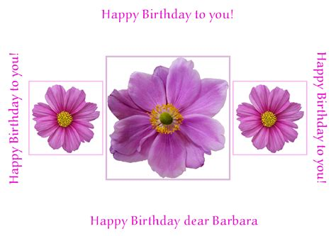 Birthday Cards Flowers Pictures Personalised Flower Greeting Cards Send A Card Brighten