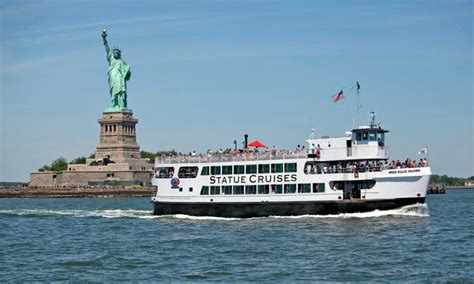 boat cruise nyc statue of liberty statue cruises in new york ny groupon