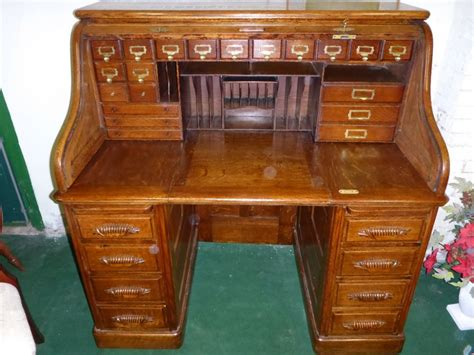 Antique Roll Top Desk 278634 Sellingantiques Co Uk Antique Roll Top Desk