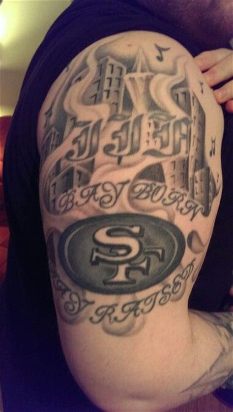 born and raised tattoo 84 best 49er tattoos images on san francisco