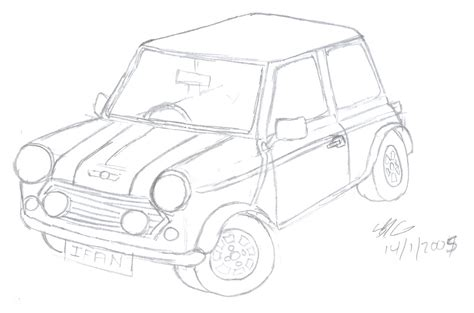 mini car coloring page free car coloring pages mini car coloring page
