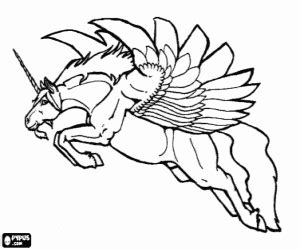 mythological beings coloring pages printable games