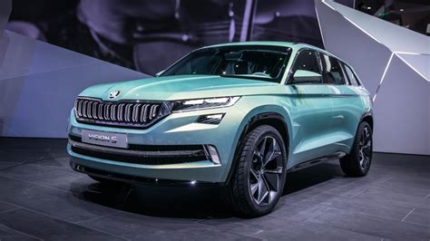 skoda 4x4 cars skoda s visions previews its big 4x4 due in the autumn
