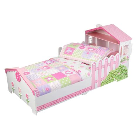 toddler beds kidkraft dollhouse toddler bed