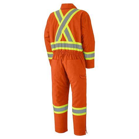 Wearpack 100 Cotton 100 Coverall Cotton Orange hi viz cotton duck insulated coveralls direct workwear