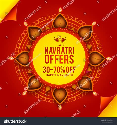 banner design navratri vector banner or flyer of navratri celebration grand