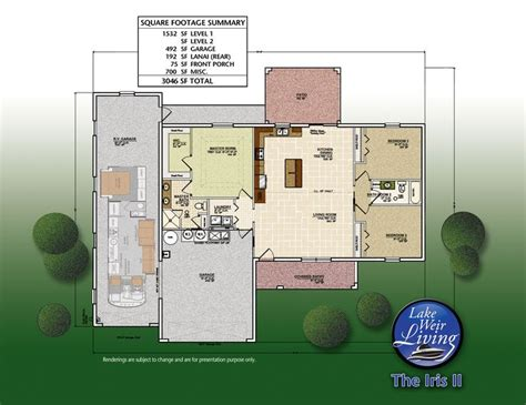 rv garage home floorplan we it retirement home