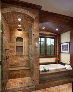 Bathroom Wood Ceiling Ideas Want To Add Brown Shower Glass Shower Amp Seat For Bathroom