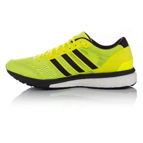 adidas adizero boston 6 mens yellow running sports shoes trainers sneakers ebay