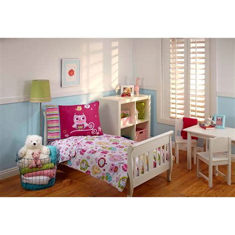 toddler bed sets for girls girls toddler bedding sets walmart com
