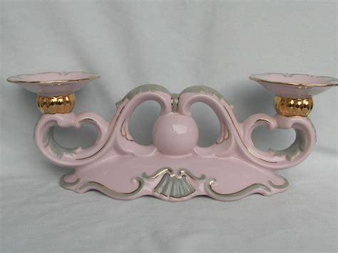 rosa kerzenhalter kerzenhalter kerzenst 228 nder original rosa porzellan h c