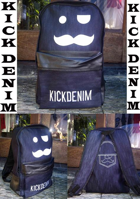 shemi collection tas ransel dc kick denim macbeth