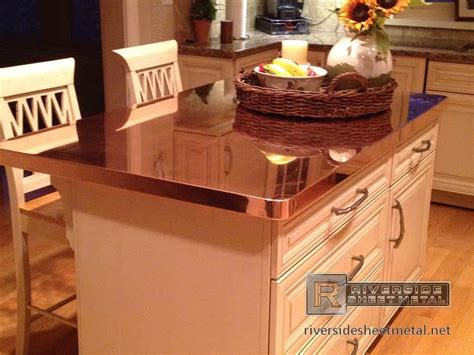 Copper Kitchen Countertops Rustic Kitchen Countertops